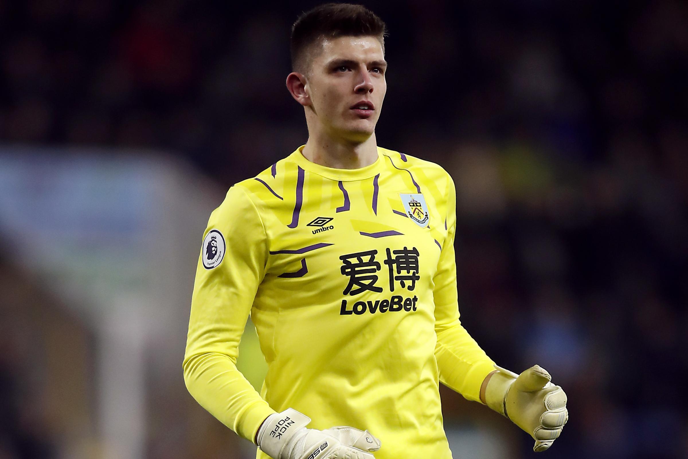 Burnley goalkeeper Pope named in PFA Premier League team of the year