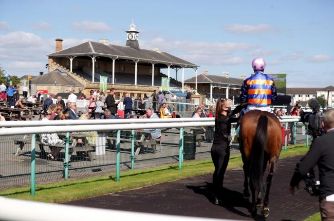 Racegoers had returned to Doncaster today