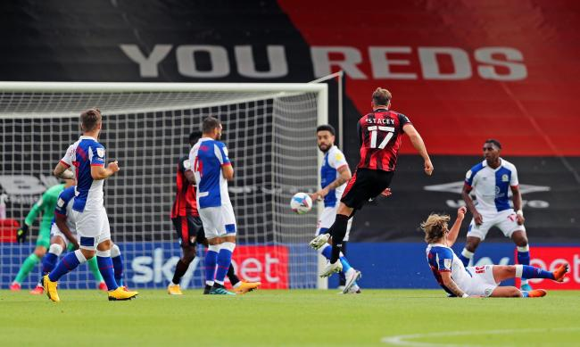 Jack Stacey opened the scoring for Bournemouth at the Vitality Stadium