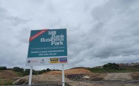 The new business park is set for completion by March 2021.
