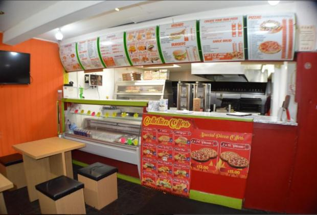 Lancashire Telegraph: Inside the takeaway (Photo: Rightmove)