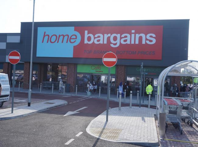 First Look: Queues as new Home Bargains store opens in Blackburn