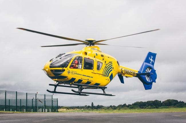 North West Air Ambulance Service have attended the scene.