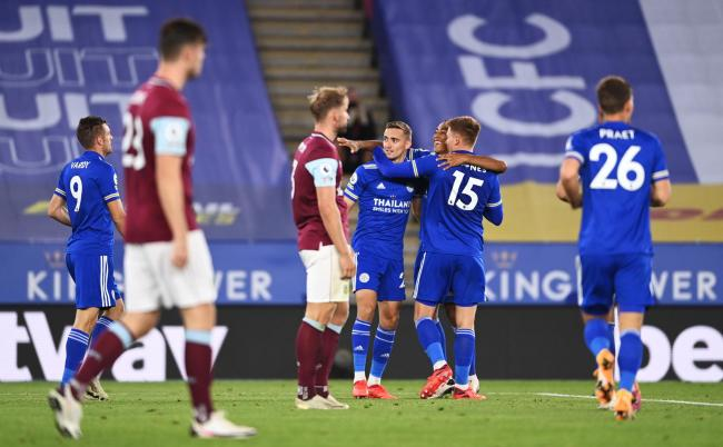 Sean Dyche felt Leicester's second goal was a turning point