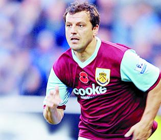 Lancashire Telegraph: Burnley boss Laws: I won't loan out Robbie Blake