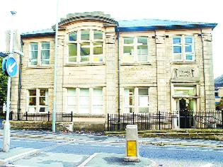 NEW PLAN: Colne Road library, Burnley