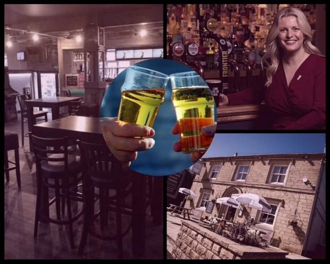 Pubs and bars like the Spitfire Sports Bar in Darwen and the Butler's Arms in Blackburn are facing a challenging time, while Emma McClarkin of the BBPA has called for more support for the industry.