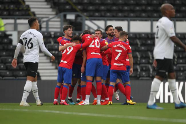 Rovers ran in four unanswered goals in the win over Derby County in September