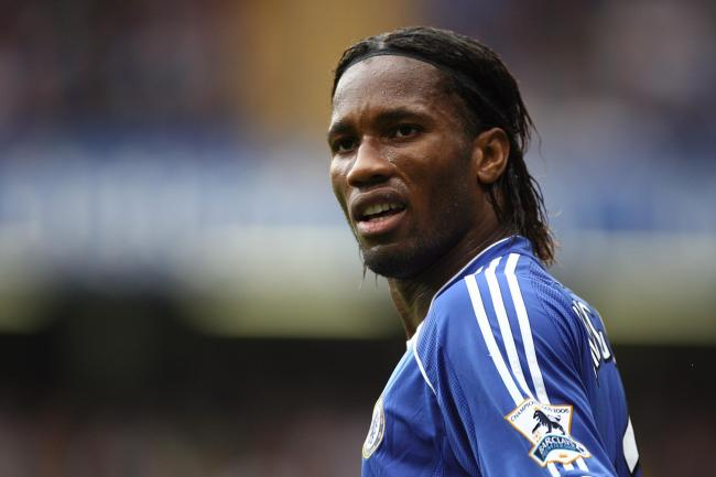 Didier Drogba, pictured, has been given the UEFA President's Award for 2020