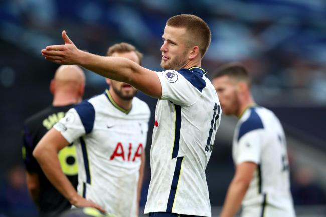 Tottenham's Eric Dier conceded a controversial penalty against Newcastle