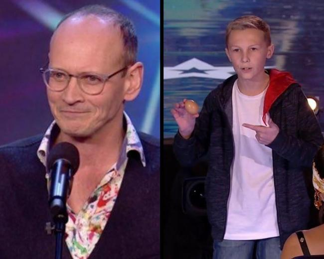 Steve Royle from Chorley and Jasper Cherry from Clitheroe will be going into the semi-final on Friday (credit: ITV).