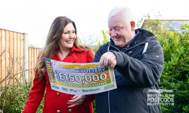 Lancashire Telegraph: Nigel Gahagan (Photo:People's Postcode Lottery)