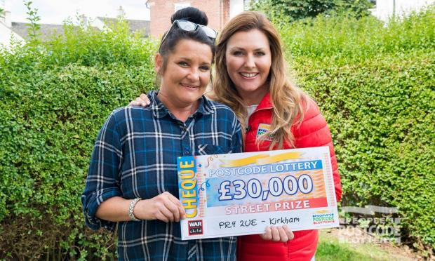 Lancashire Telegraph: Belinda Marshall (Photo:People's Postcode Lottery)