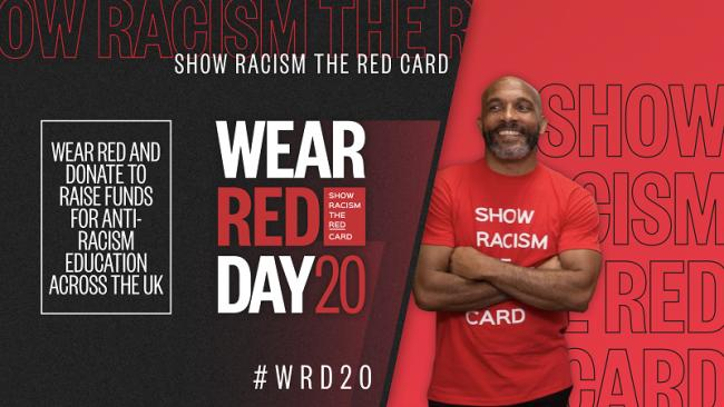 'Wear Red Day': Public urged to support anti-racism campaign