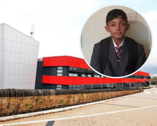 14-year-old Musa Hafejee is a pupil at Blackburn Central High School.
