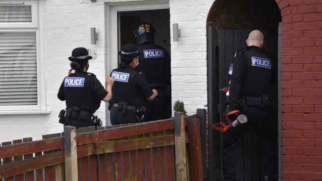 Police raided properties on Merseyside while making the arrests this morning.