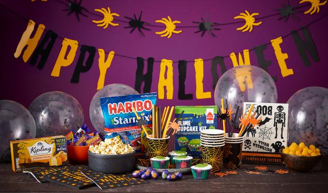 Morrisons launch 'ultimate' Halloween and Bonfire Night food boxes. Picture: Morrisons