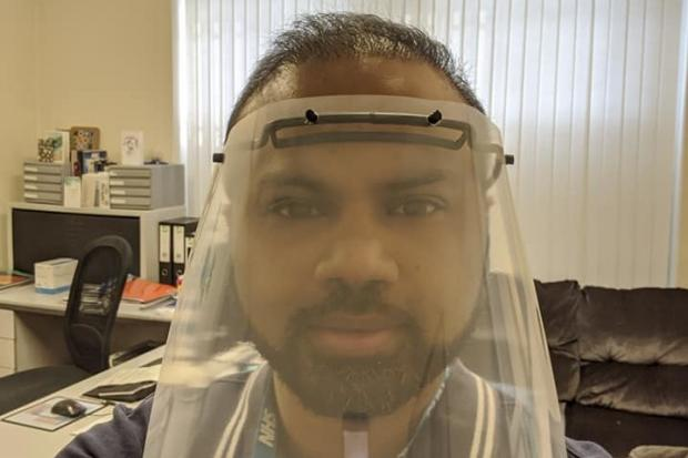 Dr Mannan tested positive for the virus on Tuesday and has started video updates letting his patients know of his condition