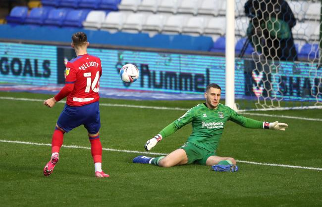 Harvey Elliott scored Rovers' third goal in the win at Coventry City