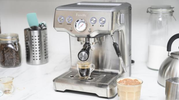 Lancashire Telegraph: If you're trying to kick your Costa habit, you may benefit from an espresso machine. Credit: Reviewed / Betsey Goldwasser