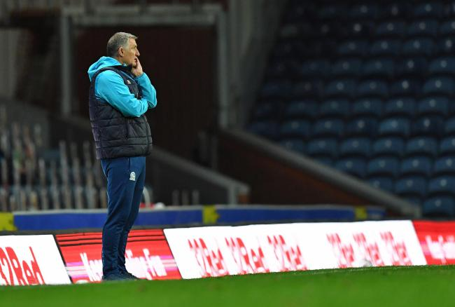 Rovers boss Tony Mowbray saw his side beaten at home by Reading