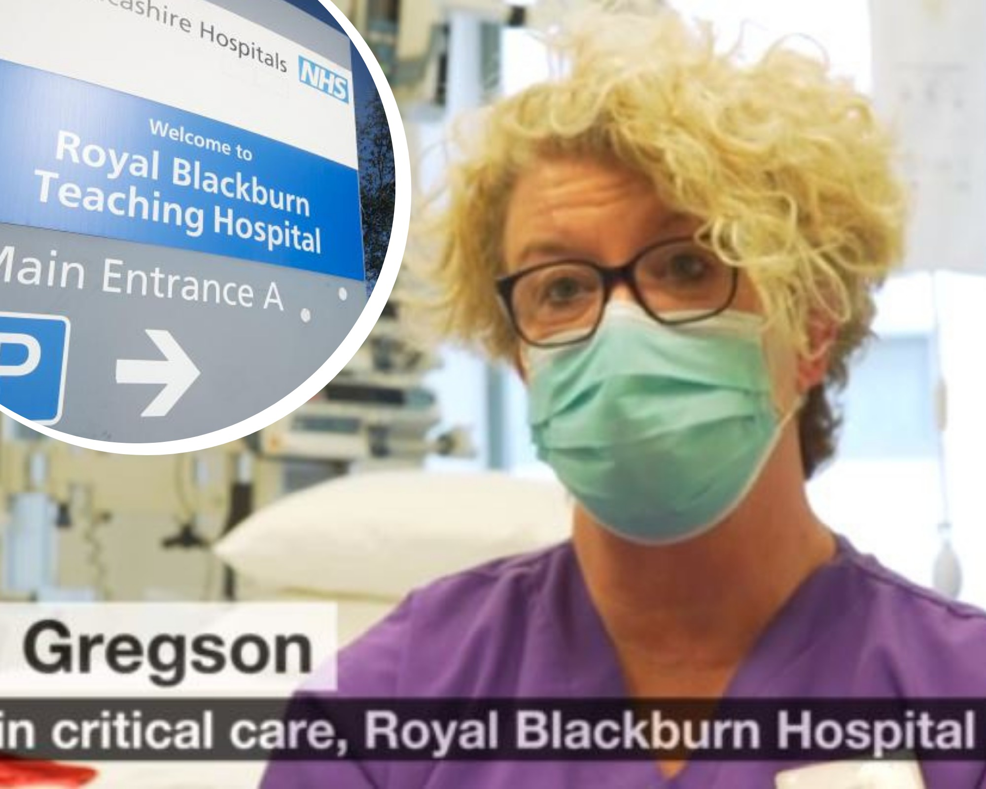 Number of virus struck patients being treated in Blackburn's hospital sky rockets - as warning issued