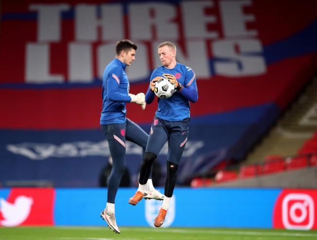 Nick Pope has made no secret of his desire to overhaul Jordan Pickford as England's No.1
