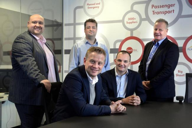 CMAC Group, Accrington from left Peter Slater, Steve Turner, Dan Kennedy, David Barrow, Neil Atkins