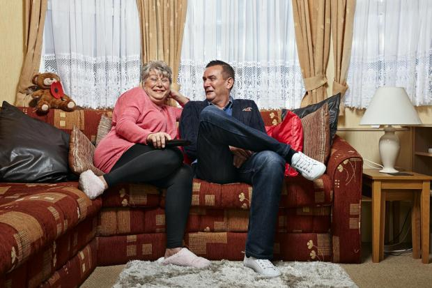 Lancashire Telegraph: Jenny and Lee. Picture: Channel 4