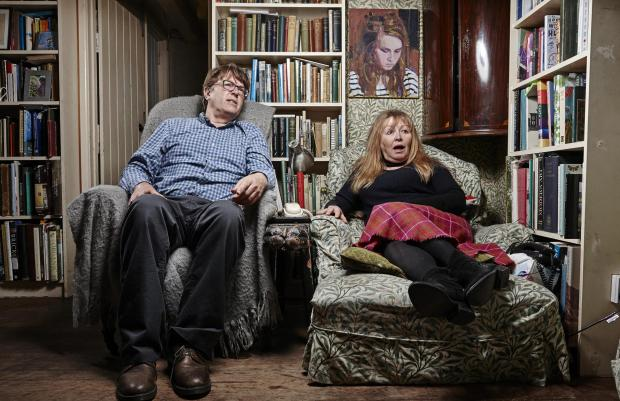 Lancashire Telegraph: Giles and Mary. Picture: Channel 4