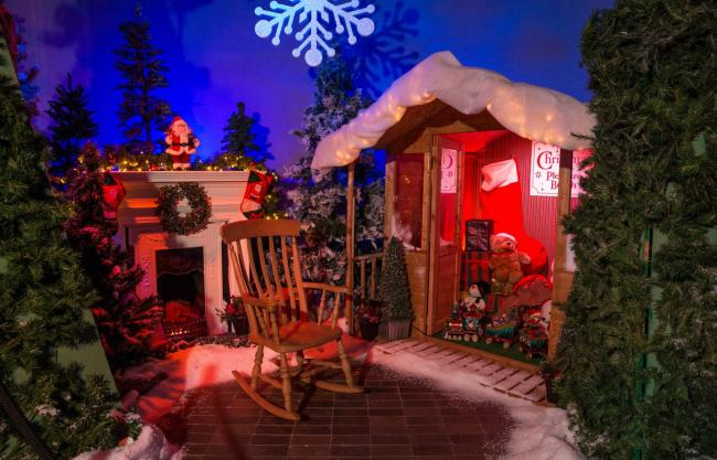 The Blackpool Pleasure Beach Christmas Grotto