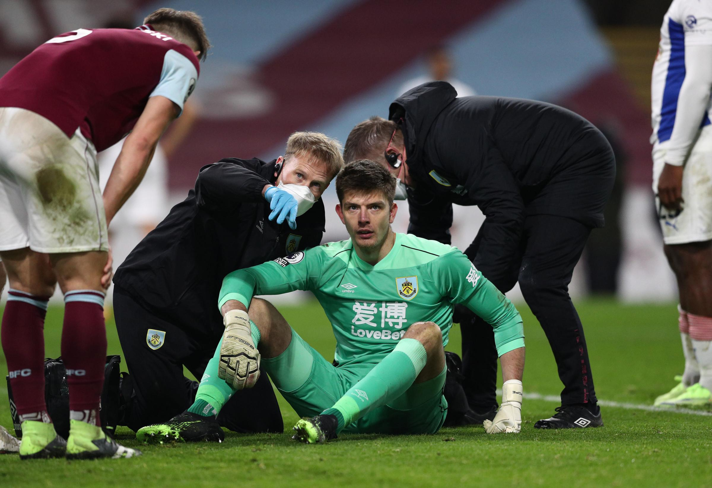 Burnley suffer major injury blow ahead of Manchester City trip