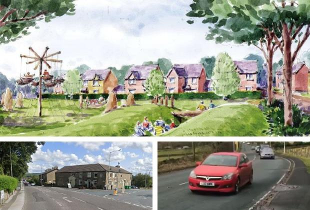 The new plans for the 131 homes on Holcombe Road