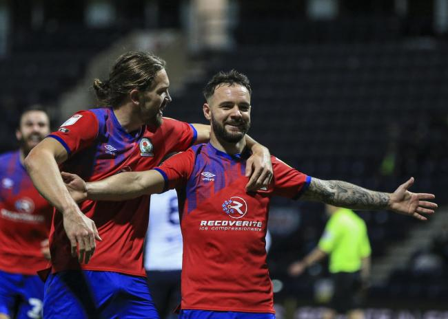 Adam Armstrong opened the scoring in Rovers' midweek win over Preston North End