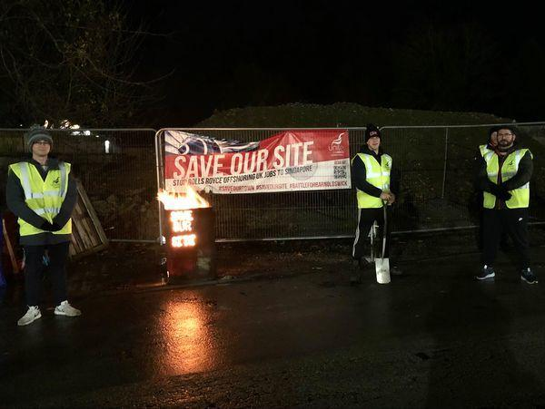 Lancashire Telegraph: Strike: Industrial action has been underway at Barnoldswick since November