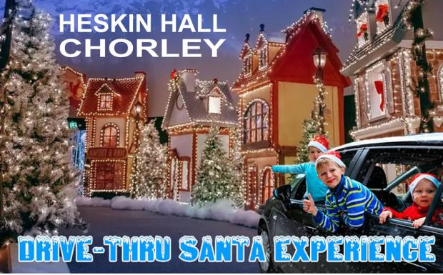 Lancashire Telegraph: Heskin Hall drive-thru Santa experience (Photo: Heskin Hall)