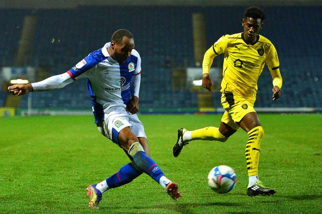 Ryan Nyambe had a hand in both Rovers goals in the win over Barnsley