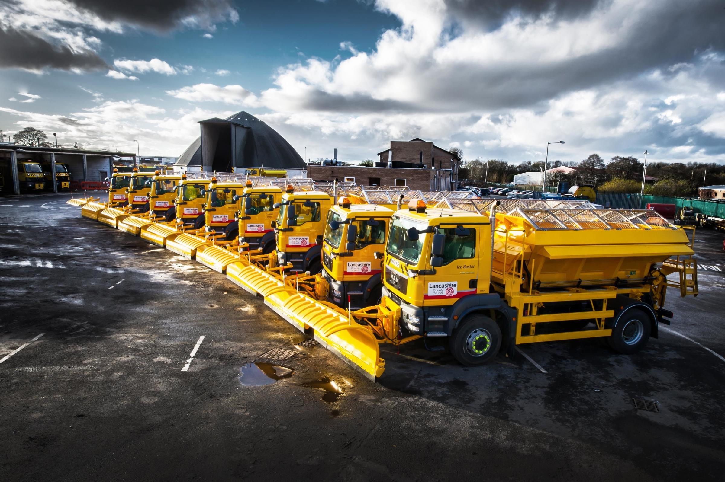 Gritters on the roads as weather turns cooler with frost predicted