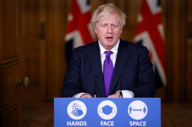 Boris Johnson has acknowledged peoples concern about the rising number of cases