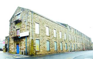 NEW LEASE OF LIFE? Oxford Mill, Briercliffe Road, Harle Syke, which could become apartments and a nursery