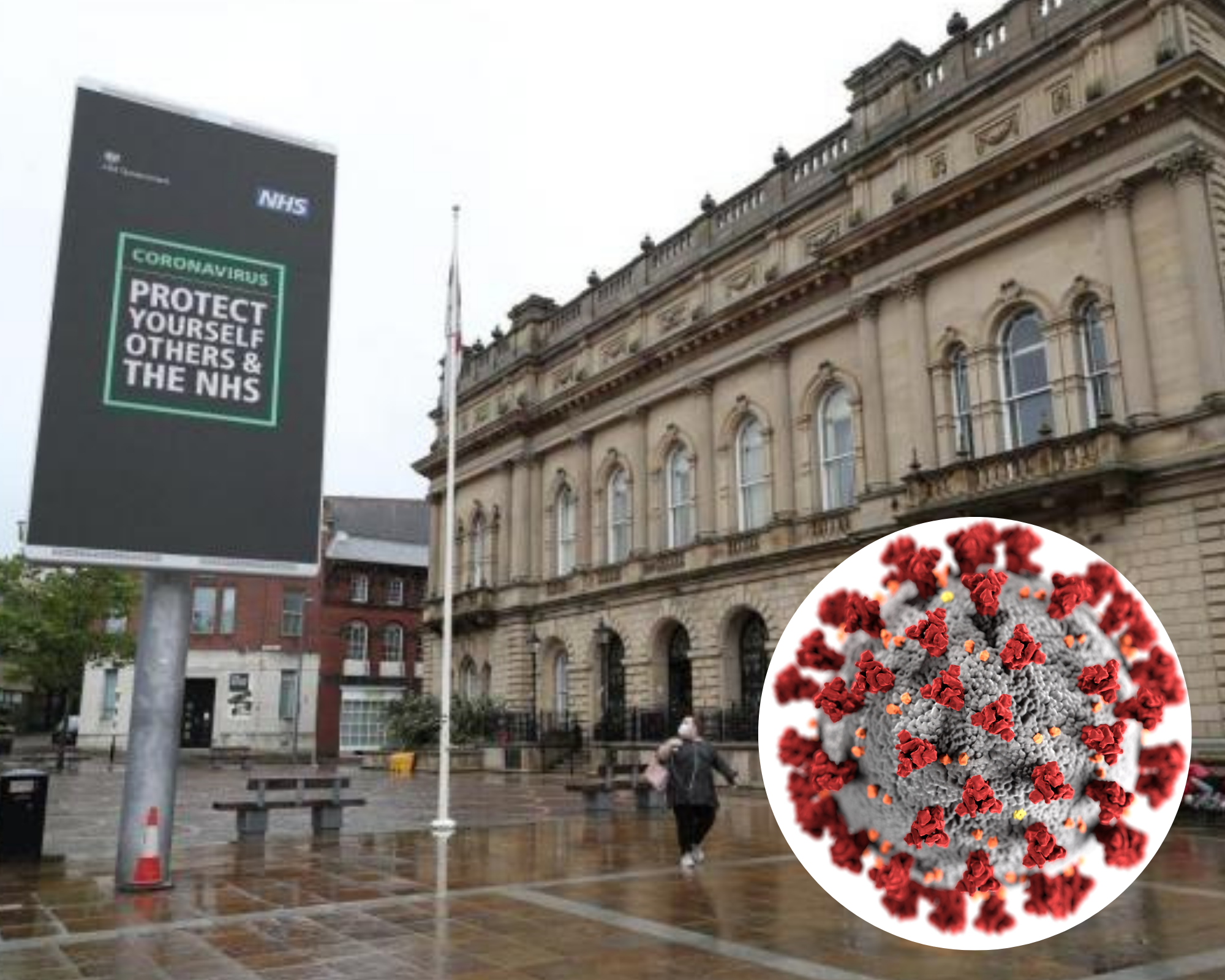 Blackburn now has the highest coronavirus infection rate