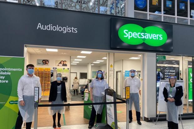 Specsavers: Branches in Burnley, Nelson and Colne are encouraging people to come forward for eye tests