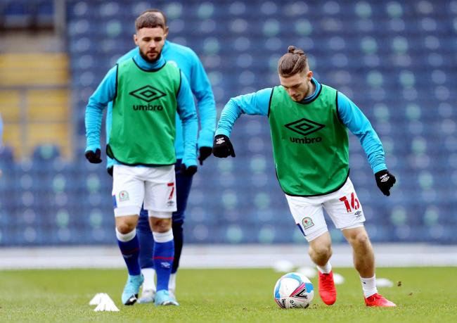 Rovers have trained at Ewood Park ahead of the FA Cup tie with Doncaster
