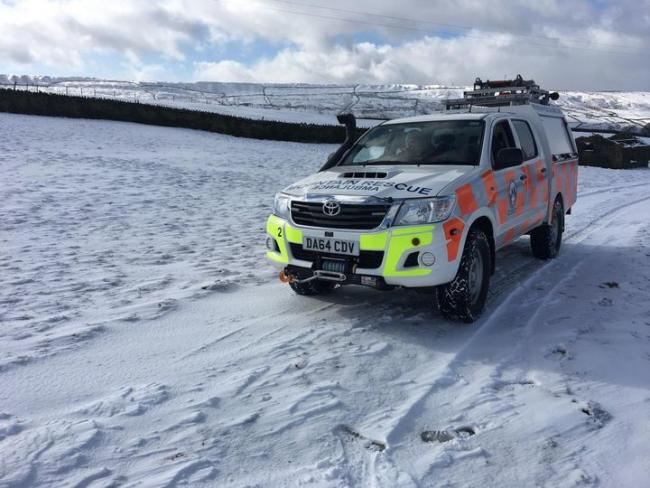Mountain rescue have been called out nine times in just eight days and say the lack of fundraising and increase in callouts is putting stress on their organisation