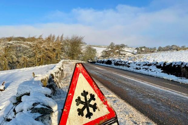 Drivers warned to slow down in dangerous road conditions after crashes