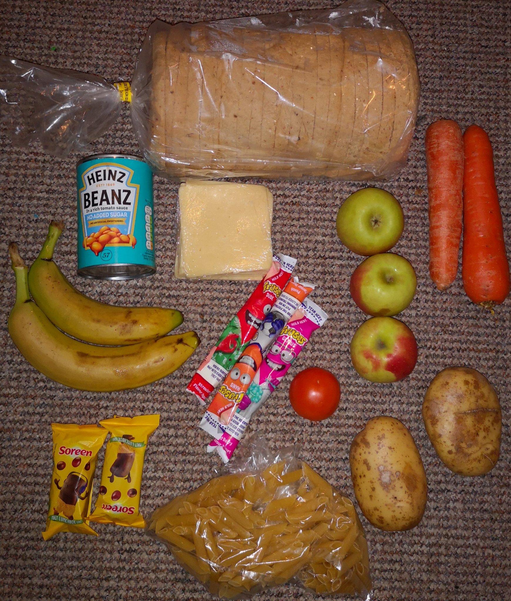 Mum S Rage Over Free School Meal Hamper Lancashire Telegraph