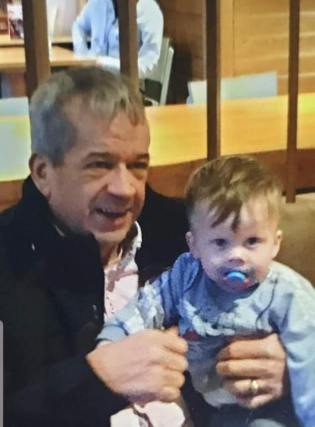 Lancashire Telegraph: Ray and his grandson Jace