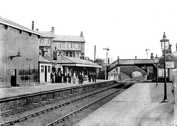 Helmshore Rail Station in 1905 PIC: John Alsop and Disused Stations