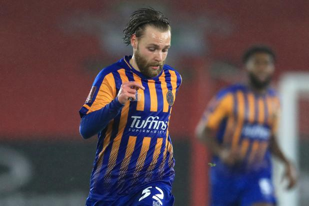 Harry Chapman is impressing out on loan at League One side Shrewsbury Town