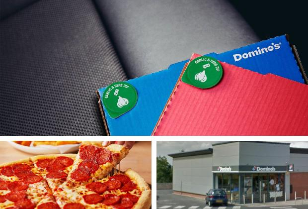 Dominos launch in car collection service in Blackburn and Rawtenstall
